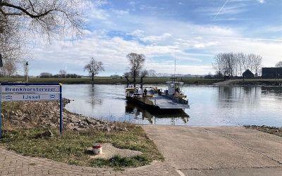 Fietsen langs de IJssel naar Bronkhorst en Doesburg