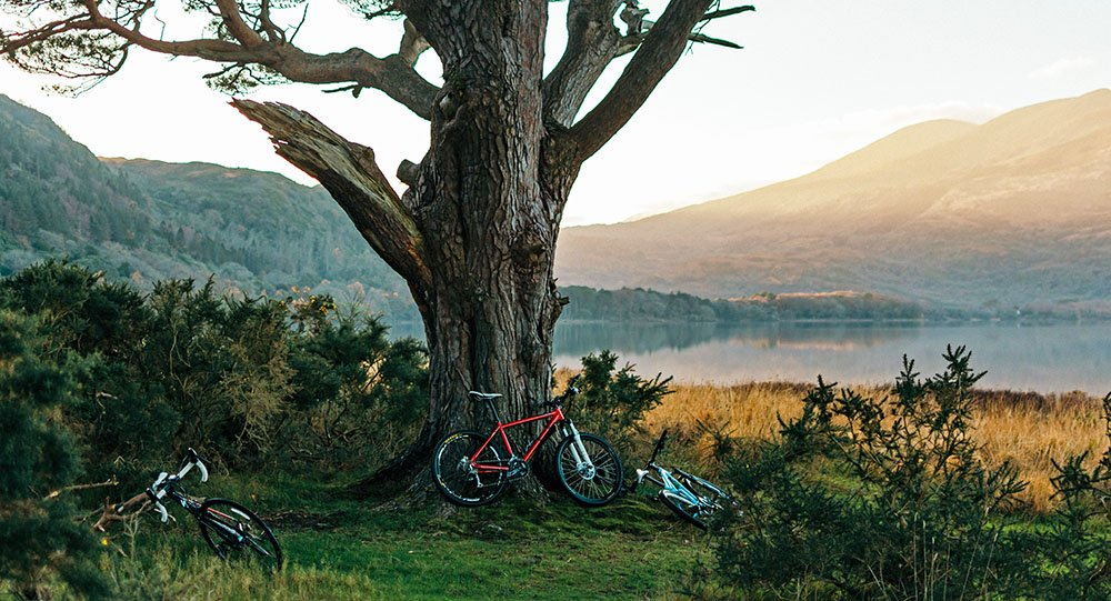 fietsen in Ierland