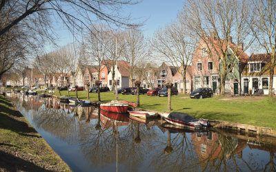 Wandeling rond Edam: Markermeer, polder en vestingstad