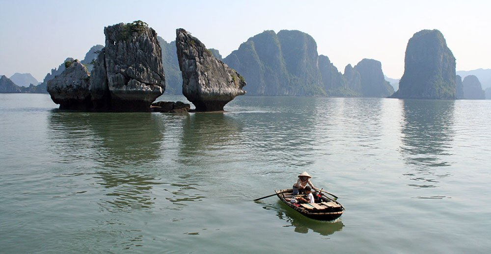 Halong Bay, Noord-Vietnam
