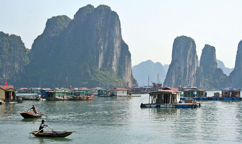 Halong Bay in Noordoost-Vietnam