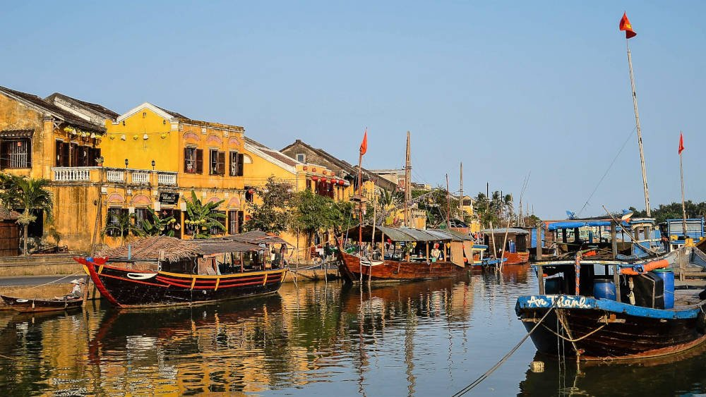 Rivier in Hoi An