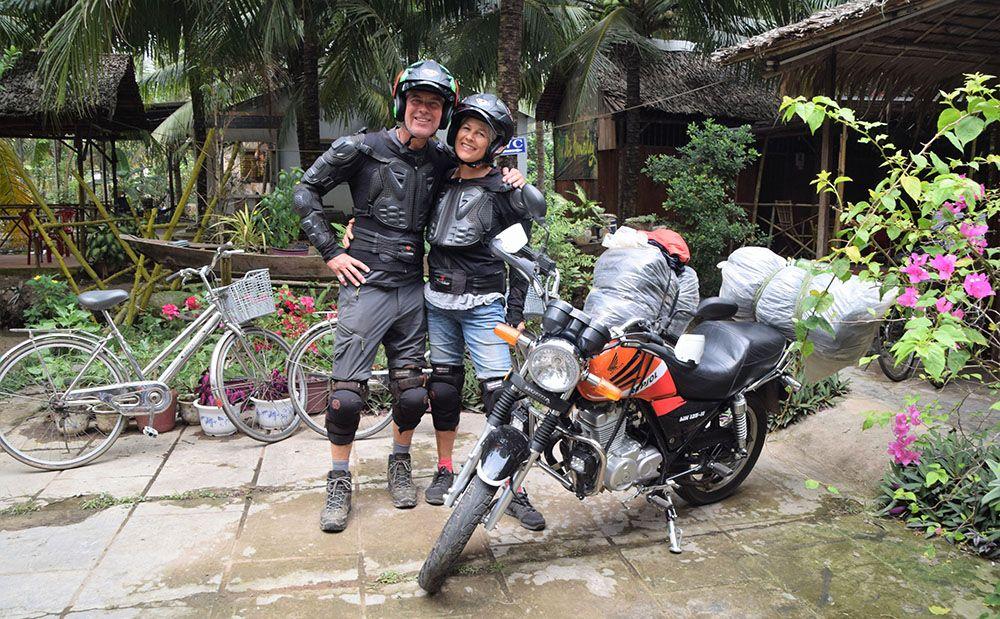 Motortocht in Zuid-Vietnam