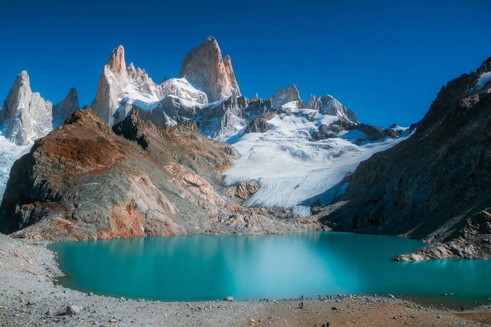 Pategonie in Chili kent woeste rivieren en watervallen