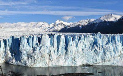 De Perito Moreno gletsjer, natuurlijk hoogtepunt van Argentinië