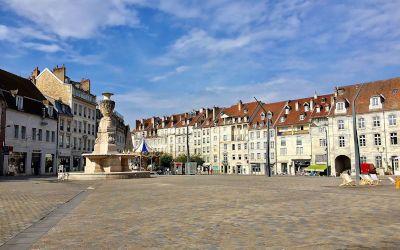 Besançon, de stad van de Citadel van Vauban