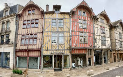 Troyes: stad van vakwerkhuizen in de champagnestreek