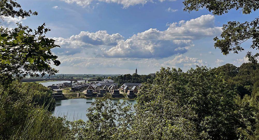 Uitzicht op Rhenen