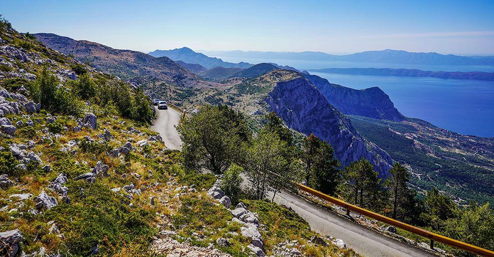 Autoweg in Kroatië