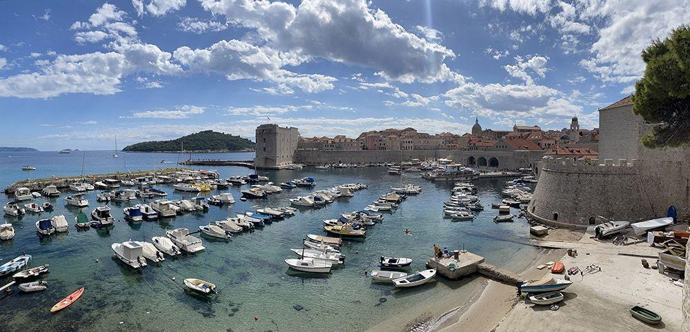Haven bij Dubrovnik
